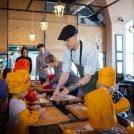 Мастер класс по приготовлению пиццы 4 марта 2017